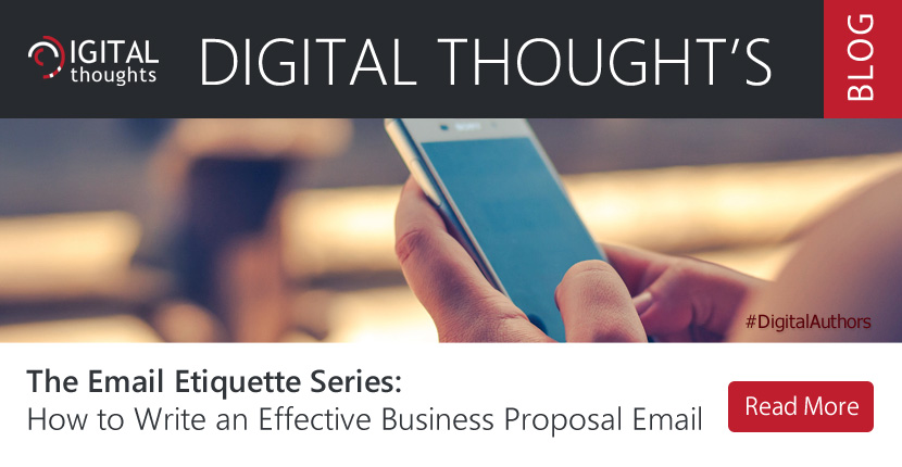 How to Write an Effective Business Proposal Email