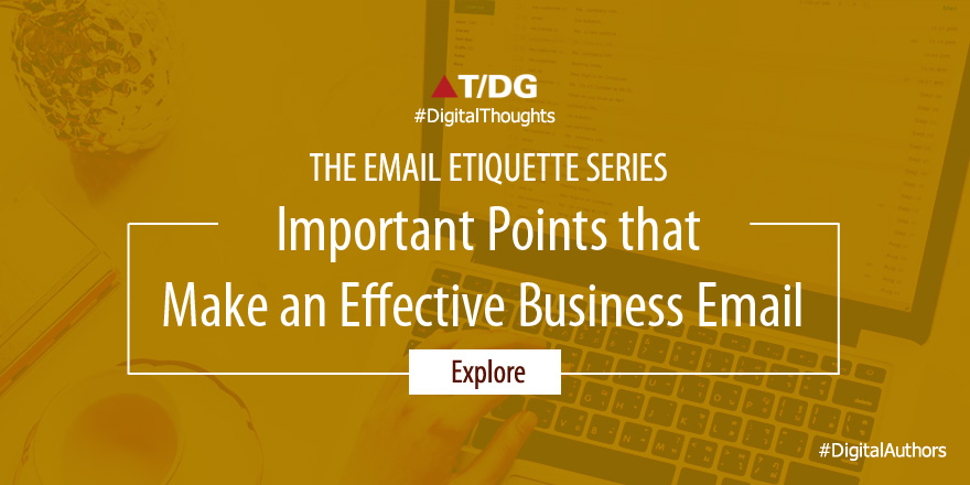 Which Points to Focus On Writing a Business Email