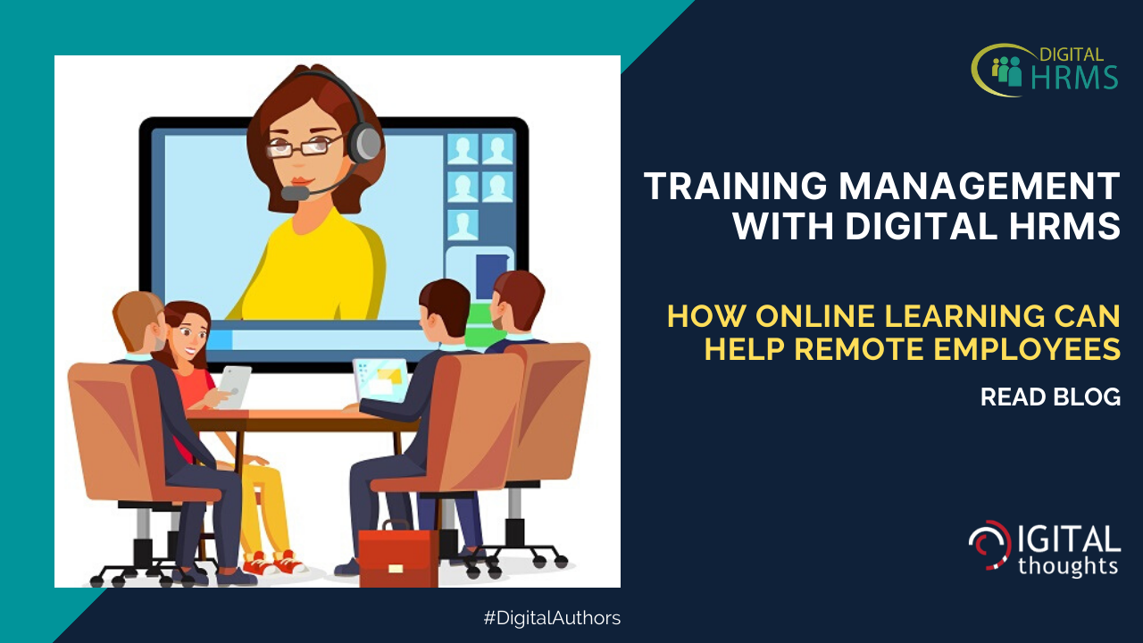 Training Management with Digital HRMS: Helping Remote Employees Learn New Skills