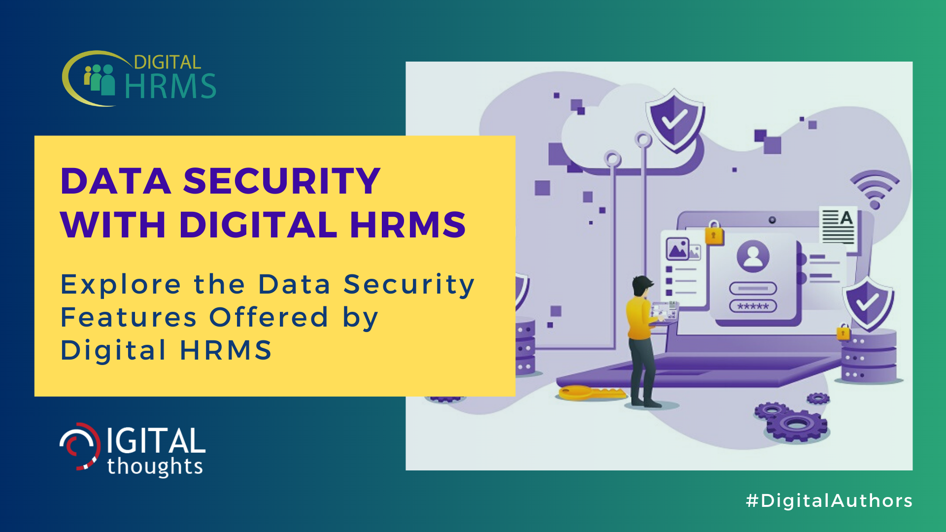 Data Security with Digital HRMS: How a HRMS Software Ensures Security of Organizational Data
