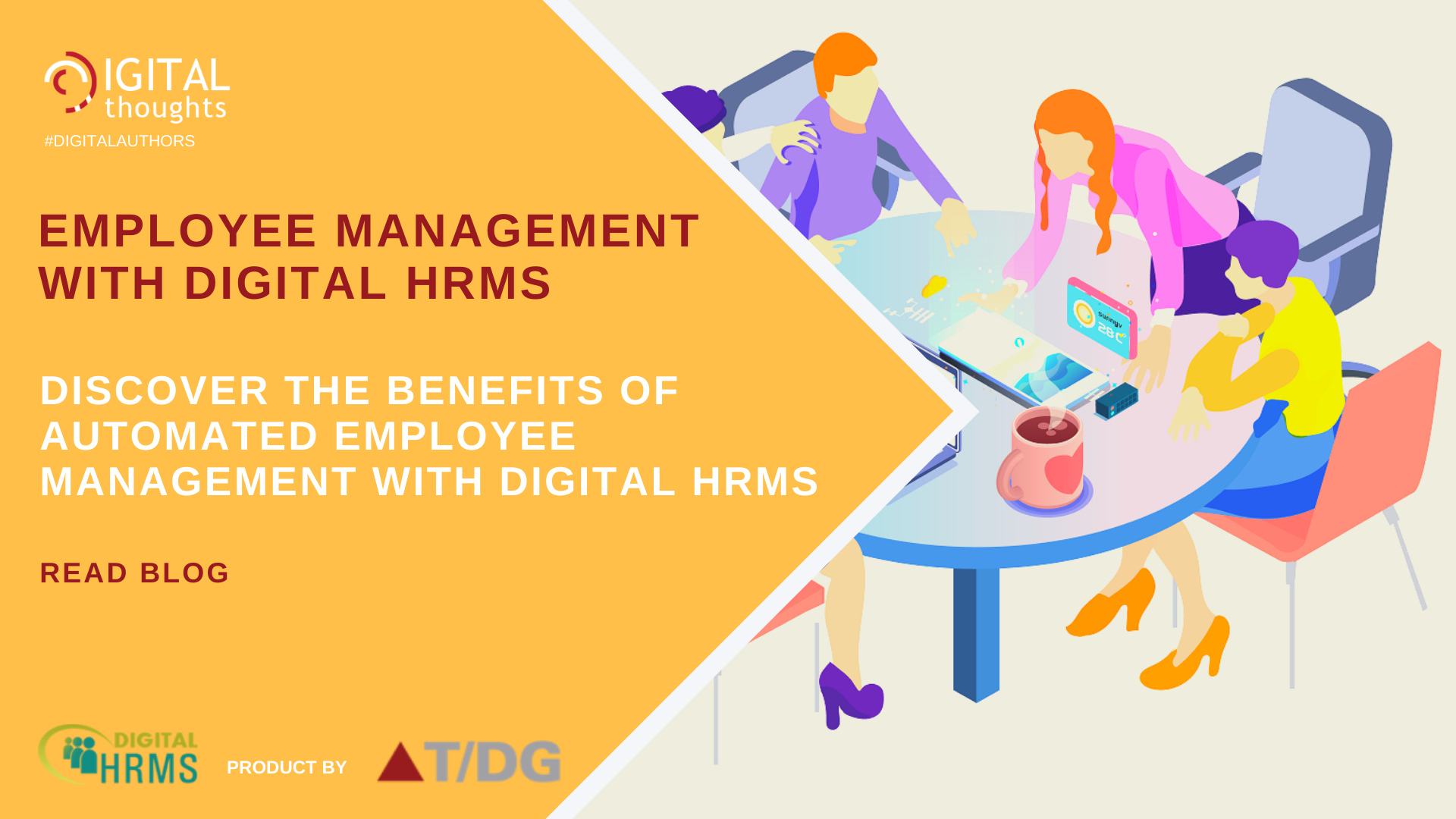 Employee Management with Digital HRMS: Exploring Benefits of an Employee Management Platform