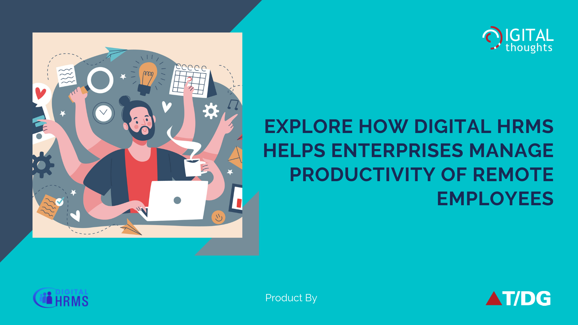 Explore How Digital HRMS Helps Enterprises Manage Productivity of Remote Employees