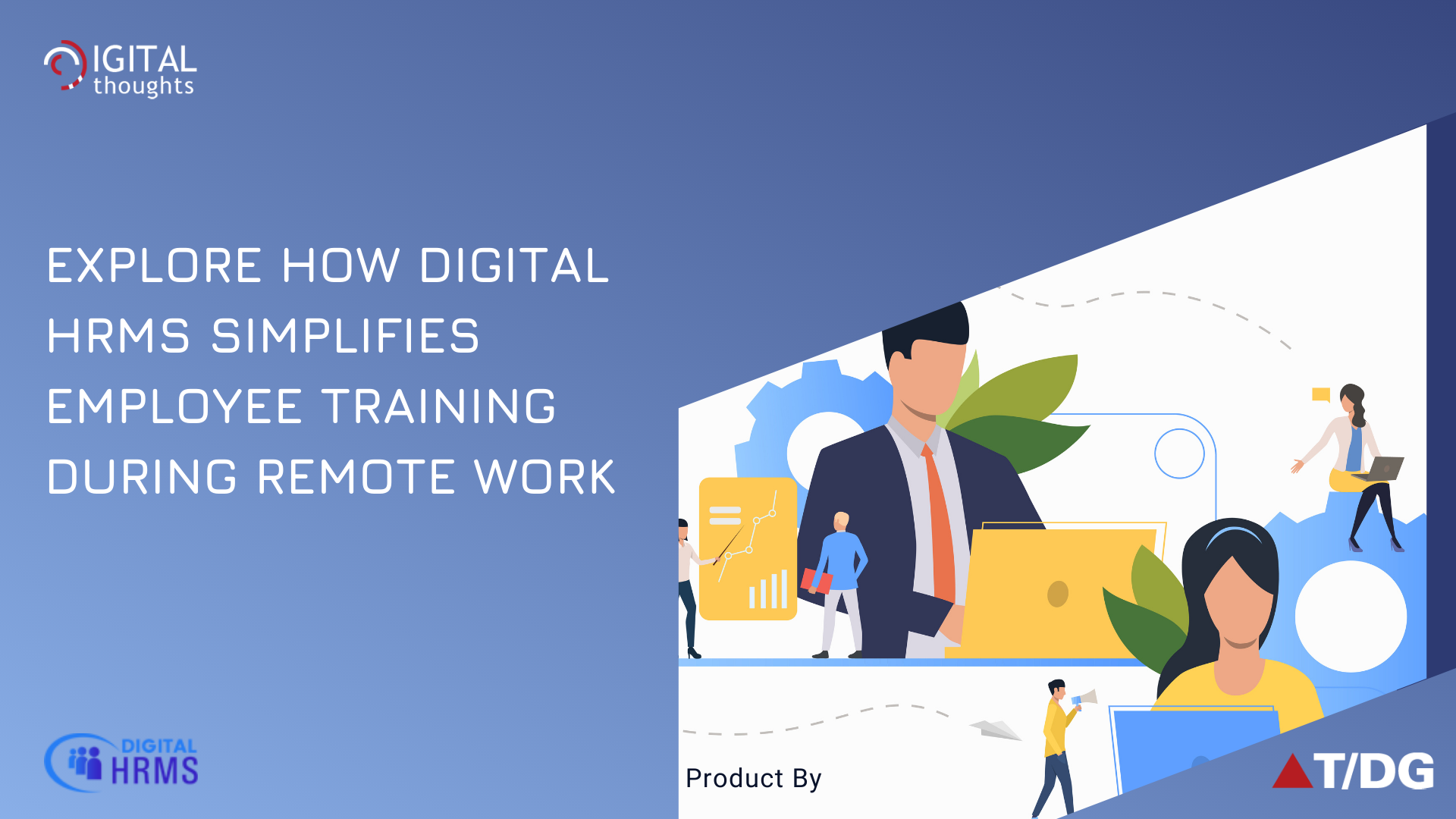 Employee Training During Remote Work with Digital HRMS