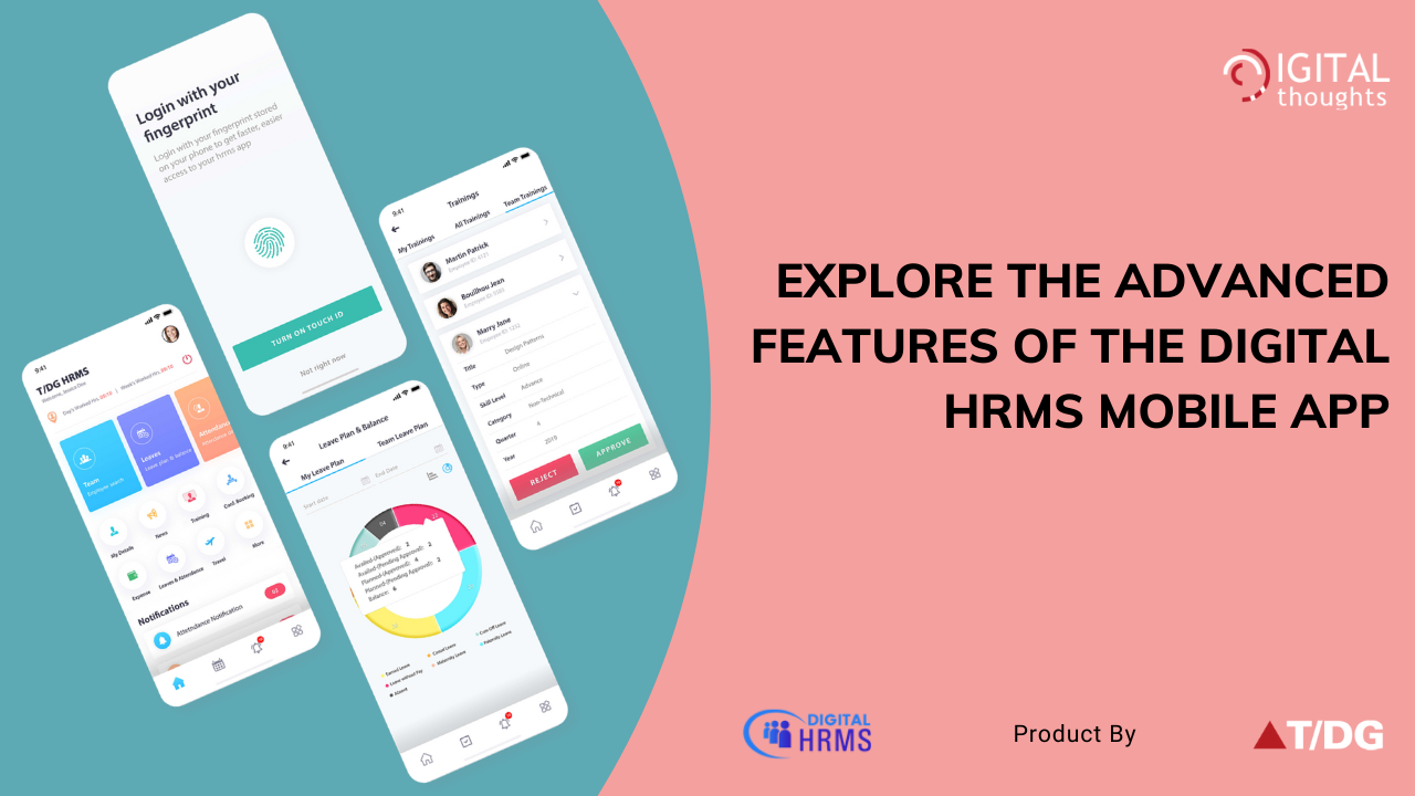 Explore HR on the Move with Digital HRMS Mobile App