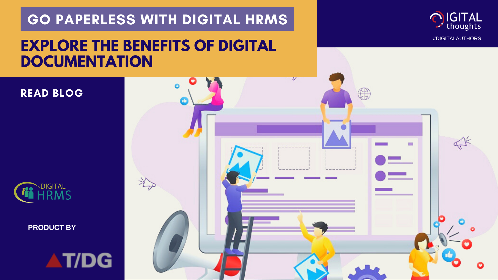 Go Paperless with Digital HRMS: Discover how HR can Benefit from Digital Documentation