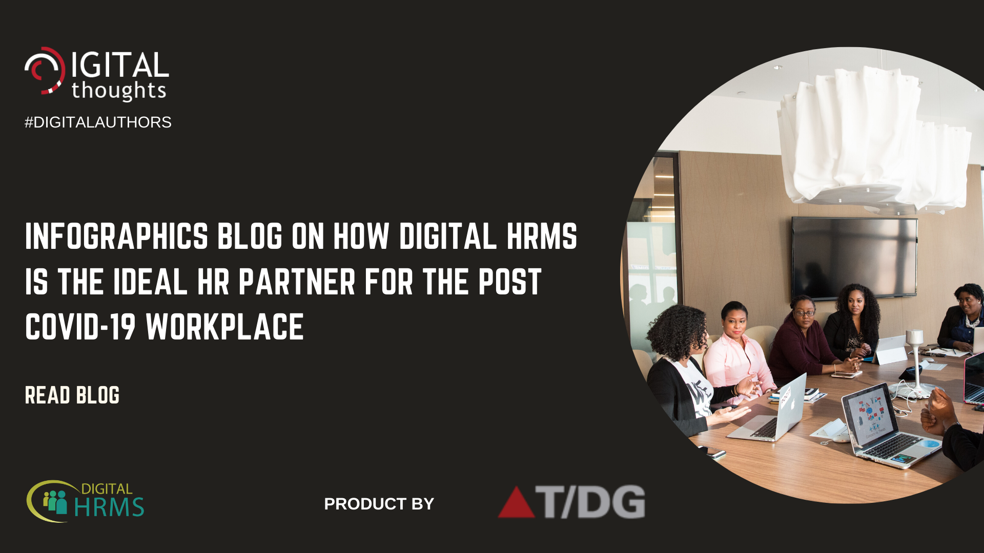 Infographics Blog on How Digital HRMS is Your Ideal HR Partner for the Post Covid-19 Workplace