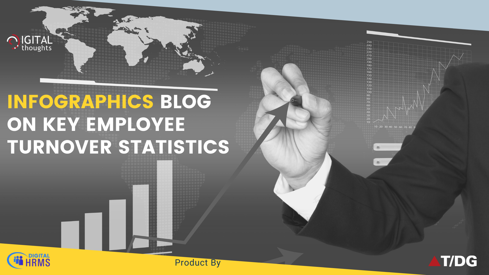 Infographics Blog on Employee Turnover Statistics for Human Resource Department
