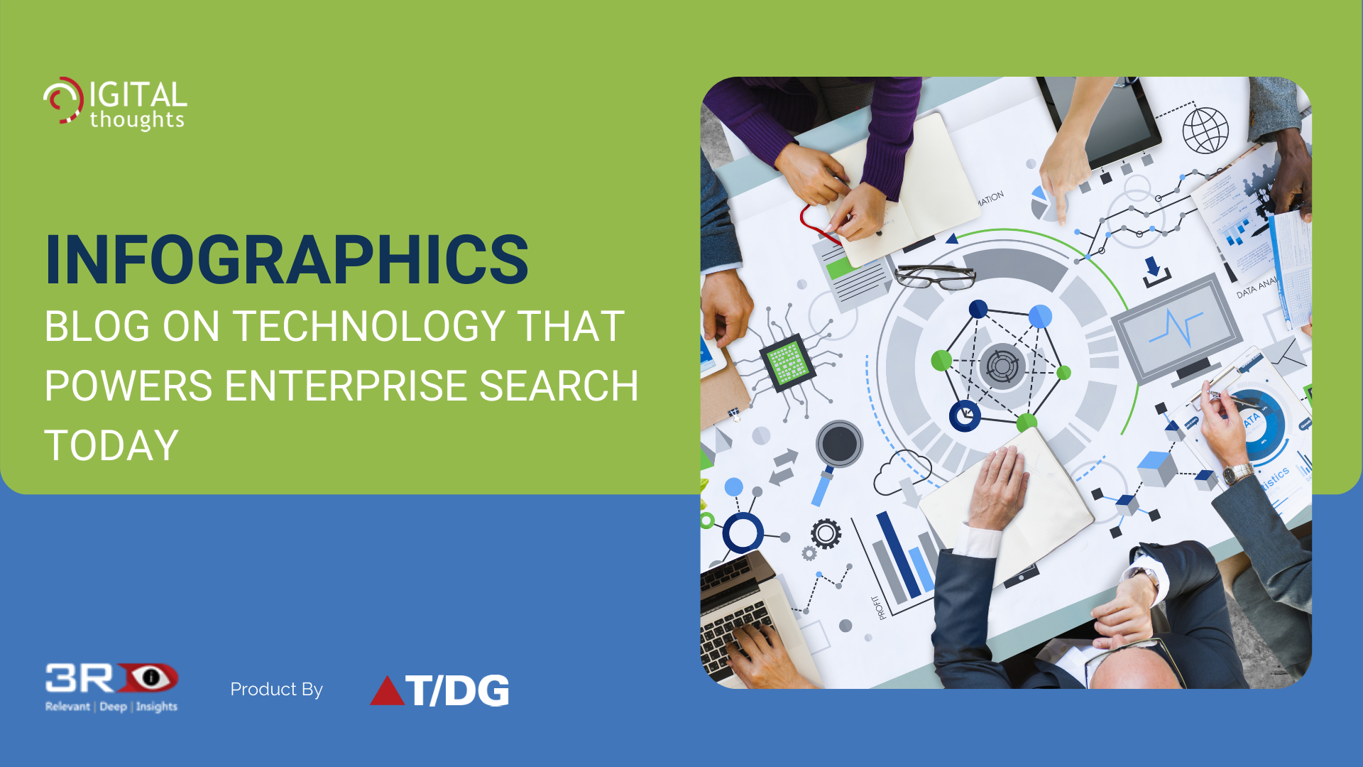 Infographics Blog on Technologies that Power Enterprise Search Tools Today