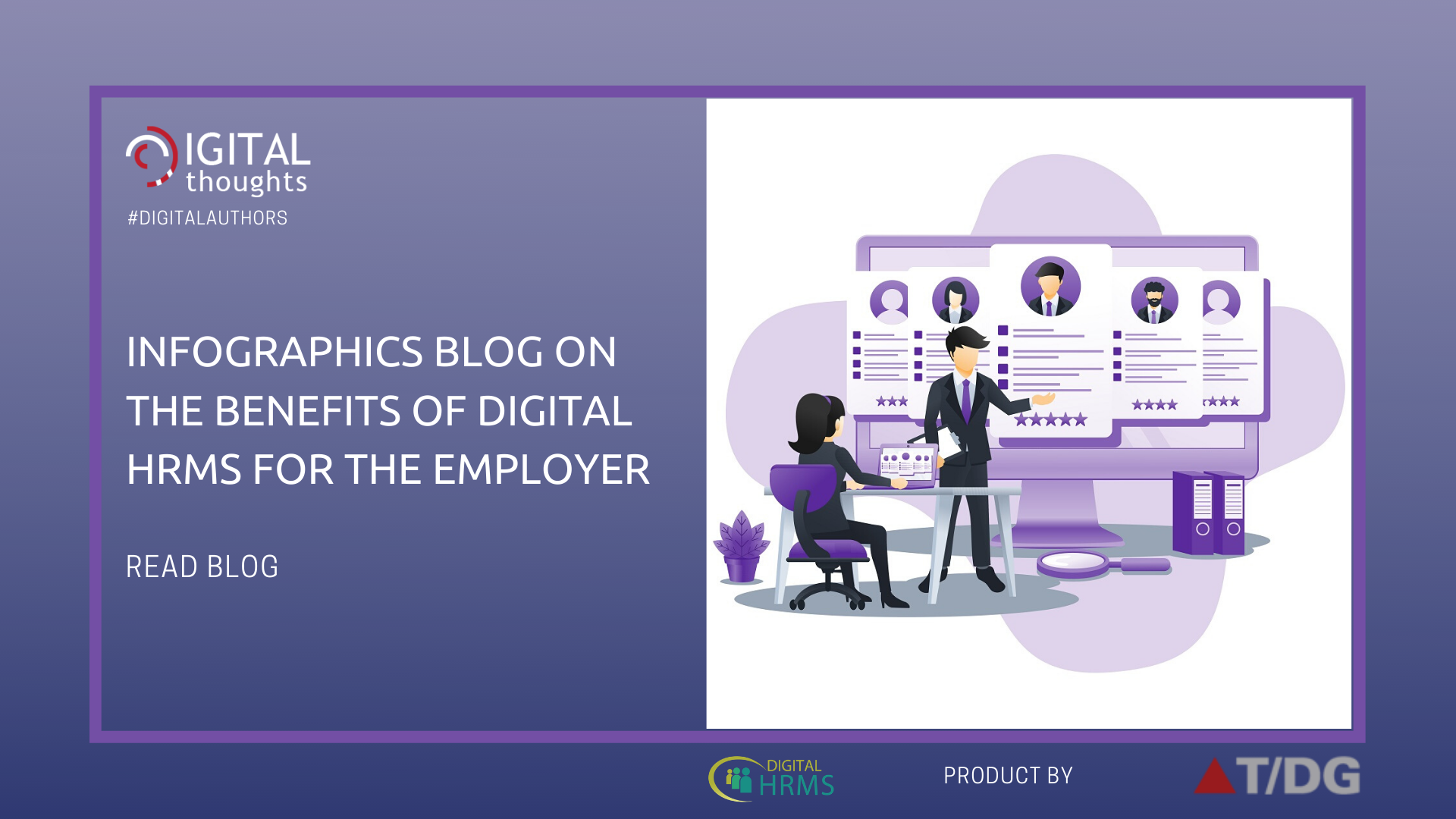 Infographics Blog on Benefits of HR Software for Employers