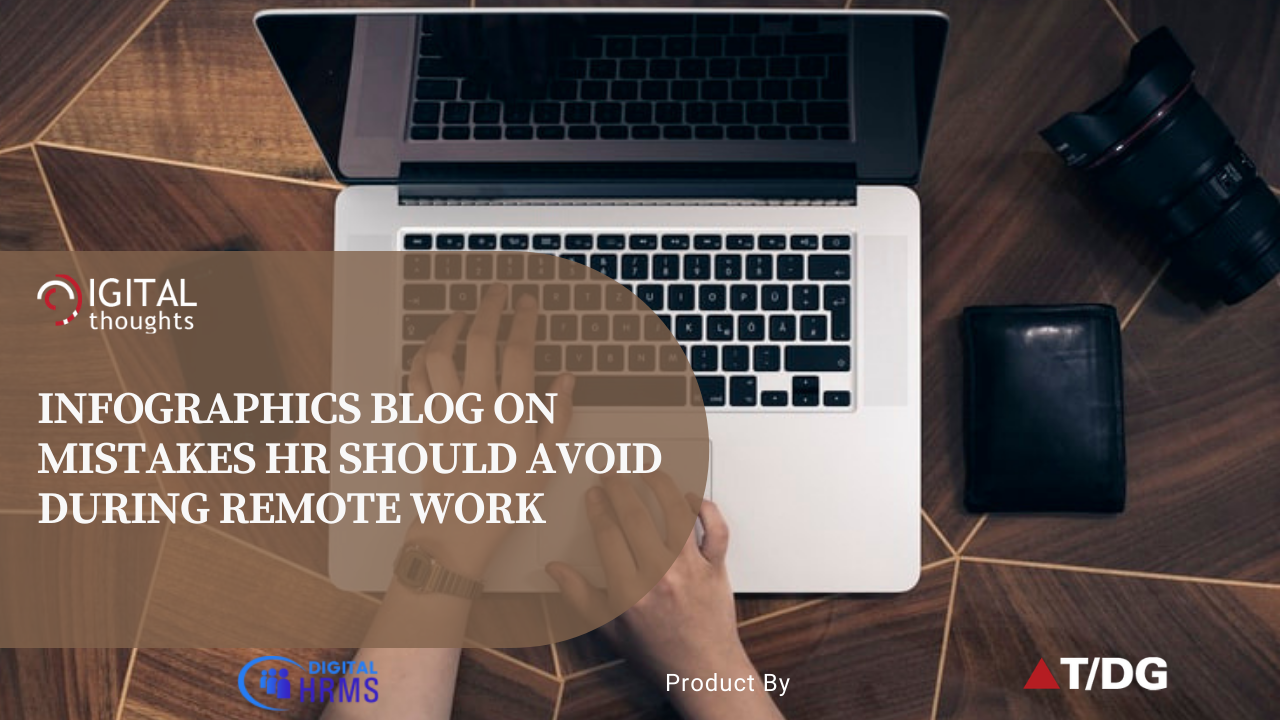Infographics Blog on Key Mistakes HR Should Avoid During Remote Work