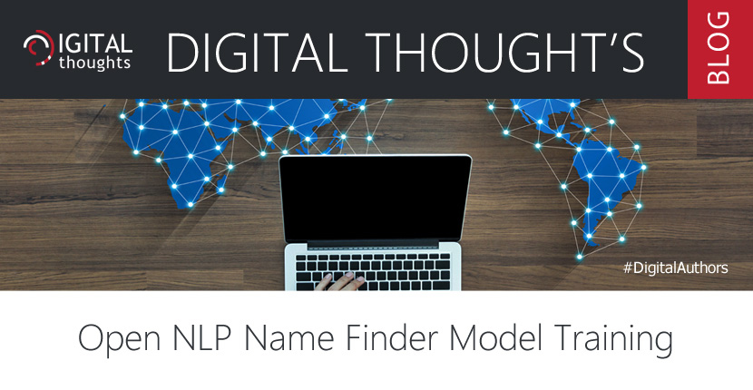 Open NLP Name Finder Model Training
