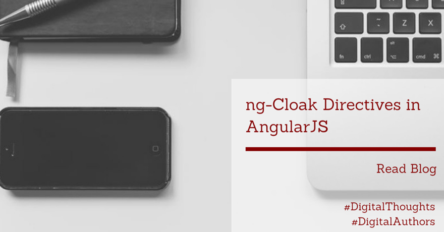 ng-Cloak directives in AngularJS