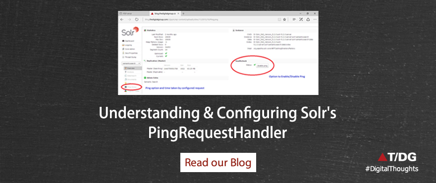 Understanding and Configuring Solr's PingRequestHandler