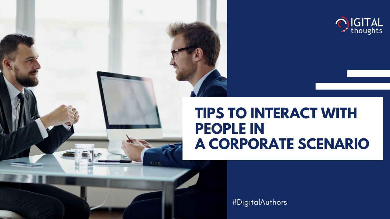 DOs and DON'Ts for Social Interactions in a Corporate Scenario