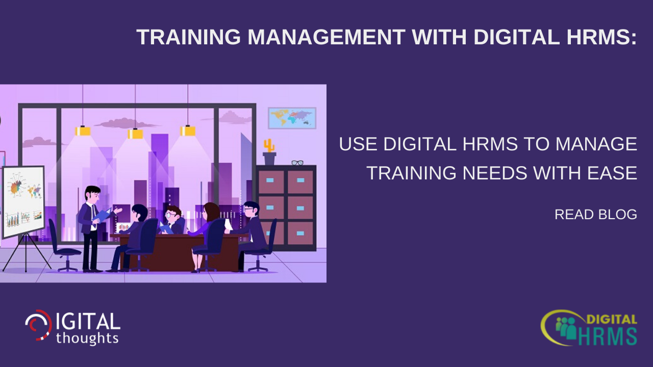 Training Management with Digital HRMS: Discover the Solution to Challenges in Training Management During Lockdown