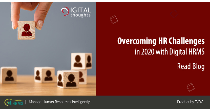 How Digital HRMS is the Solution to HR Challenges in 2020